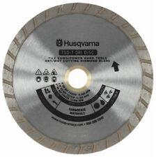 """Husqvarna 7"""" Turbo Rim Diamond Saw Blade 5/8"""" - 7/8"""" Arbor- New"""