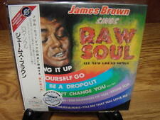 JAMES BROWN RAW SOUL JAPAN REPLICA EXACT TO ORIGINAL LP IN A LIMITED RARE OBI CD