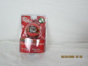 Vu-Me digital Photo Ornament  red