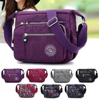 Women's Nylon Handbag Shoulder Bag Ladies Waterproof Crossbody Messenger Bags