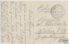 Feldpostbeleg, I. WK, K.D. Feldpostamt des Großen Hauptquartiers, 24.2.15