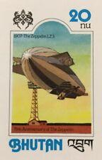 SPECIAL LOT Bhutan 1978 SC 245 - Zeppelin - Full Sheet of 40 - IMPERF
