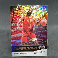 James Harden Revolution Supernova NBA Card 2019-20 Panini Houston Rockets