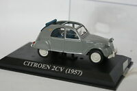 Ixo Presse 1/43 - Citroen 2CV 1957 Grise