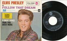 "Elvis Presley EP deutsche RCA EPA-4368 ""Follow That Dream"""