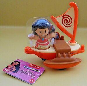 Fisher Price Disney Princess Float Parade Moana Little People Raft Boat NEW