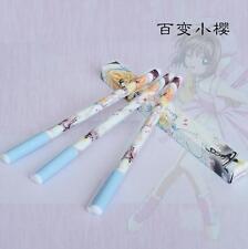 3PCS x Japan Anime Card Captor Sakura Kinomoto Sakura Ballpoint Pen New in Box