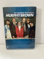 Murphy Brown - The Complete First Season (DVD, 2005, 4-Disc Set)~NEW~SEALED