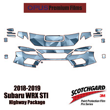 3M PRO Series Paint Protection 2018-2019 Subaru WRX STI PPF Kit HIGHWAY PACKAGE