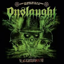 ONSLAUGHT - LIVE AT THE SLAUGHTERHOUSE (CD+DVD)  CD + DVD NEU