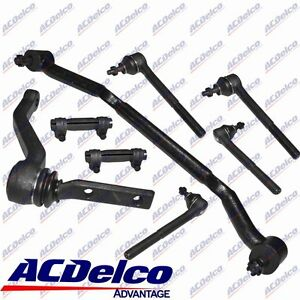 Front Steering Rebuild Kit Linkages Ends For 96-05 2WD Chevrolet S10 Blazer
