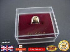 Genuine 9ct solid gold tooth teeth cap **Brand New **Same Day Dispatch**