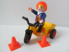 Playmobil dollshouse/playground figure: Little boy and tricycle NEW