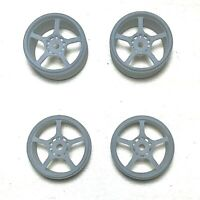 1/18 SCALE FF6 DOM'S CHARGER WHEELS  - HIGH DEFINITION SLA 3D PRINTED WHEELS