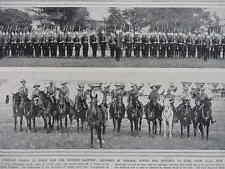 1914 CANADIAN ARMY 12TH MANITOBA DRAGOONS; CONTACT MINE IN NAVAL WARFARE WWI WW1