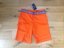 Genuino Ralph Lauren Naranja chicos Corto XL - 16 a 18 años