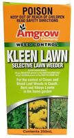 Amgrow Kleen Lawn Spray 250ML Clover Broadleaf weeds in Couch Bent Kikuyu grass