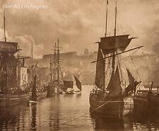 "Frank Meadows Sutcliffe Photo, ""Dock End, Whitby"" 1880"
