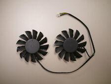 75mm Twin Frzor III Fan PLD08010B12HH MSI 670 680 HD7850 7870 Video Card USA