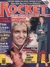 Rocket Music Magazine July 1978 Peter Frampton, Rod Stewart EX 112415DBE