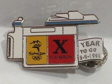 SYDNEY OLYMPIC GAMES 2000 FUJI XEROX OFFICIAL PARTNER 1 YEAR TO GO PIN #614