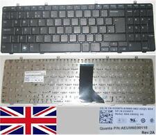 Clavier Qwerty UK Dell Inspiron 1564 NSK-DR0SQ AEUM6E00110 0206F5 206F5 Noir