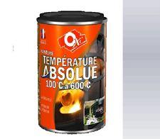Vernice Alta Temperatura Colore Alu 600°C 0.25L Oxi Barbecue Riscaldamento Mote