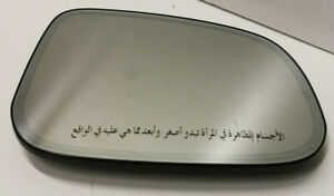 Genuine Jaguar XJ XK XF XE IPace Right Hand Door Mirror Arabic Writing C2C37099