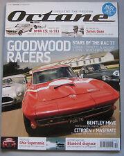 Octane 10/2005 featuring Corvette, Jaguar, CA Cobra, Maserati, Porsche, BMW CSL