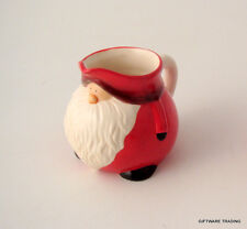 Father Christmas Milk Cream Jug Santa Head Traditional Vintage Style Ceramic