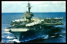 USS Kitty Hawk  CV-63 Postcard US Navy Ship Aircraft Carrier (cd1)