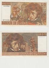 GERTBROLEN  10 FRANCS ( BERLIOZ  ) du 4-4-1974   Z. 41 Billet N° 0102367536