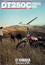 YAMAHA Brochure DT250 DT250C 1976 Sales Catalog Catalogue REPRO