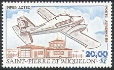 St Pierre & Miquelon 1989 avions/Piper/AVION/AVIATION/transport 1 V (n30576)