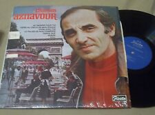 CHARLES AZNAVOUR SELF TITLED LP  RARE FREE U.S. SHIPPING LOOK