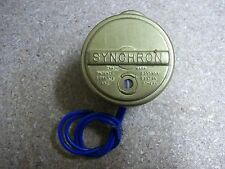 Vintage Syncron 620 220 V 60cy 3w 2 RPH New Old Stock