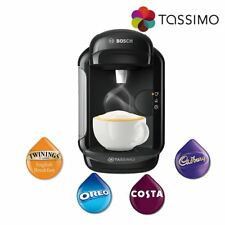 Tassimo TAS1402GB Vivy 2 Hot Drinks Costa Coffee Machine Black 1300W 0.7L Bosch