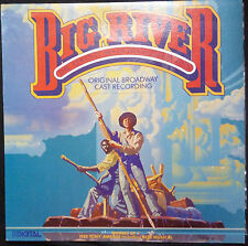 BROADWAY CAST - BIG RIVER VINYL LP AUSTRALIA