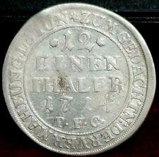 1714 12 Einen Thaler German State Saxe/Meinengen