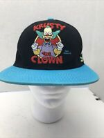 original The Simpsons KRUSTY THE CLOWN embroidered classic snapback hat cap OSFM