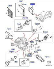 LAND ROVER GENUINE MODULE TCM - Range Rover Sport (L320) - LR022936