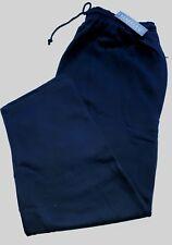 "New 3XL Perfect Collection Navy Blue Jog Pants 27"" Inside Leg"