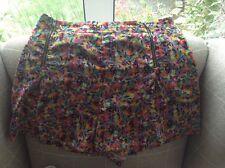 Topshop Floral Shorts - Size 8