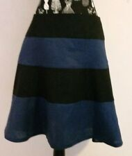 NEW Linen colour block tier skirt, size 12
