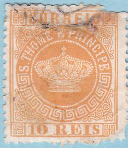 Sao Tome and Principe 1869 - 1875 SC#2 UH