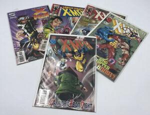 Uncanny X-Men Marvel Comics Lot of 5