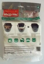 (3) Shop Vac type A vacuum cleaner bags #90667 - New