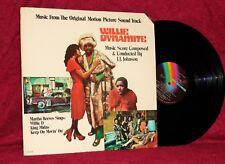OST LP WILLIE DYNAMITE J.J. JOHNSON MARTHA REEVES 1974 MCA NM BLAXPLOITATION