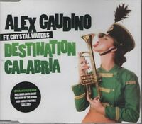 ALEX CAUDINO feat CRYSTAL WATERS destination Calabria 5 TRACK CD NEW -NOT SEALED