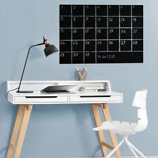 [neu.haus] Lámina de pizarra adhesiva 40x300cm con tizas negra escribir y borrar